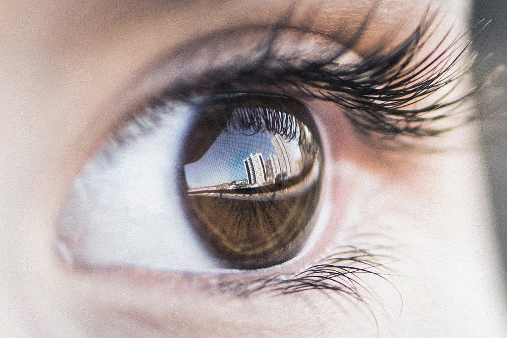 eye, reflex, photography